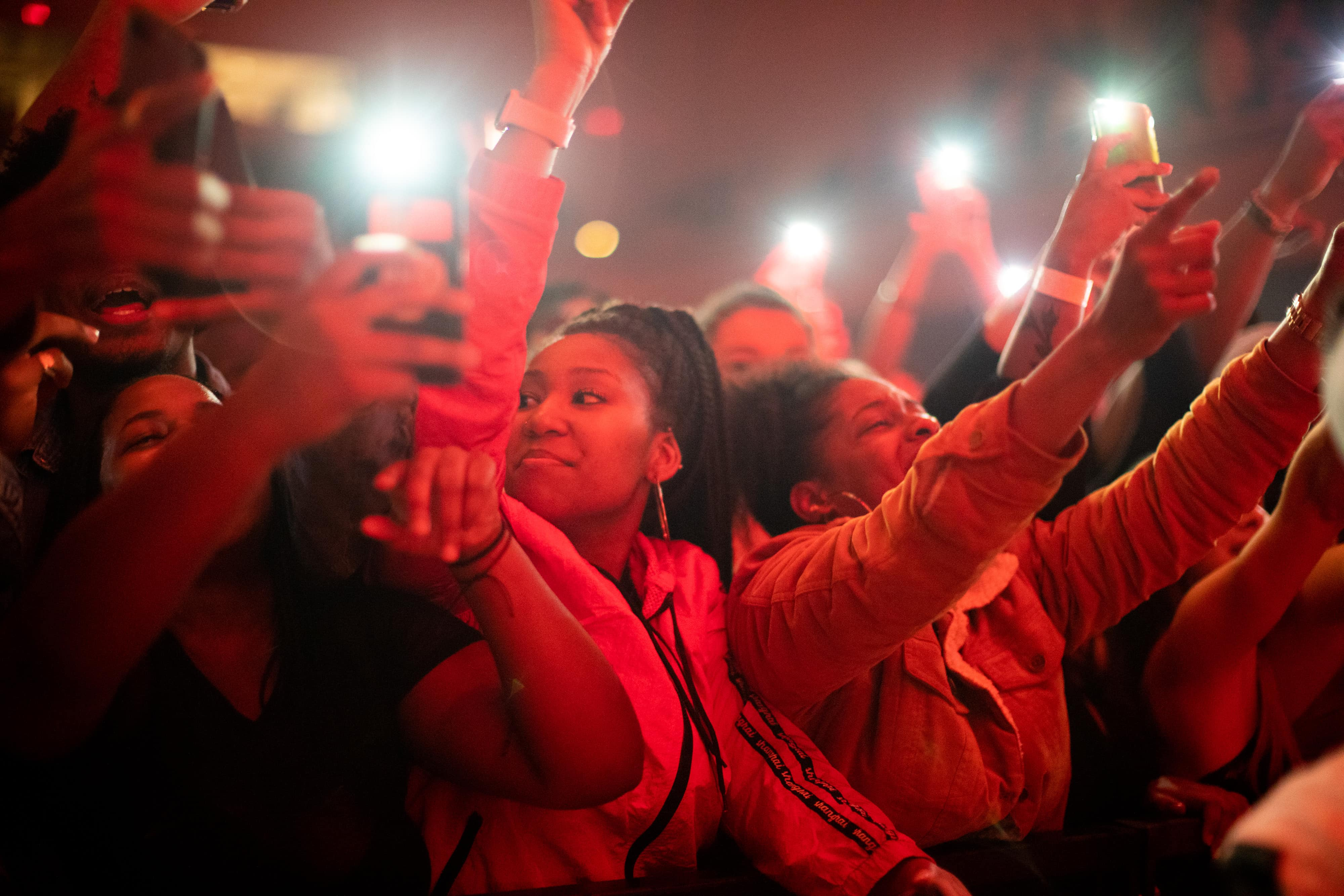 Fans at the Hope Benefit Festival live in concert at Syracuse University on Dec. 7, 2018
