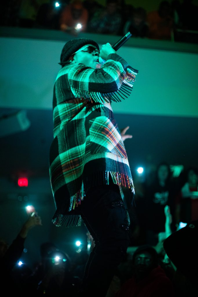 Gunna live in concert at Syracuse University on Dec. 7, 2018