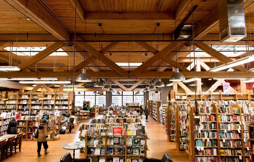 Elliot Bay Book Company in Seattle, W.A.