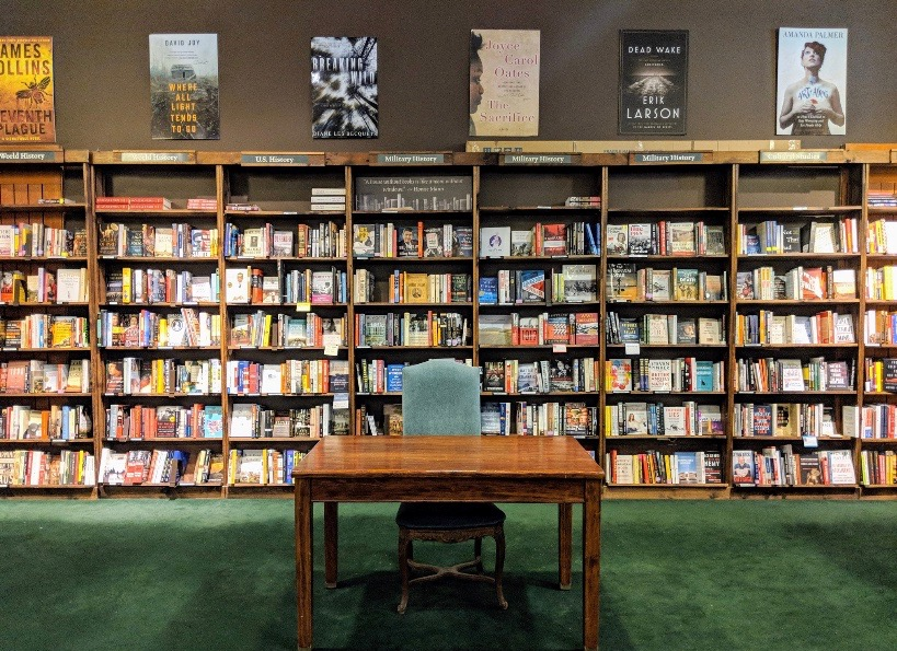 Tattered Cover Bookstore in Denver, C.O.