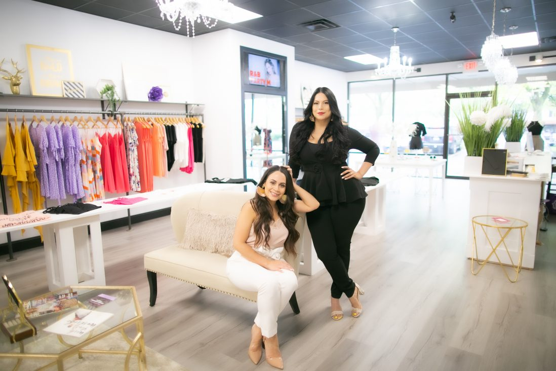 Bella V Boutique owners Lorena Nazario and Melissa Convertino closed their shop in Troy on March 16