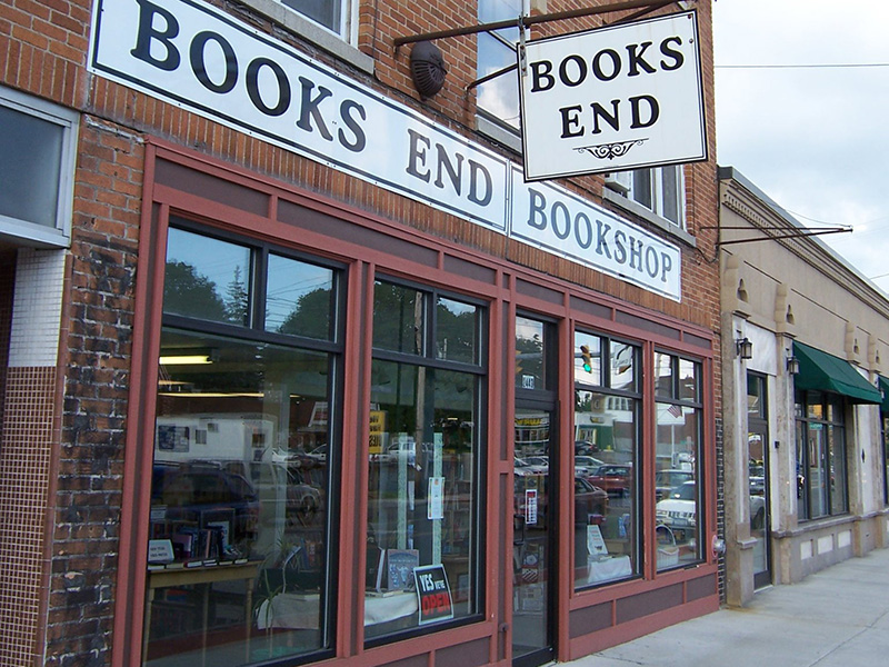 Books End Bookshop in Syracuse