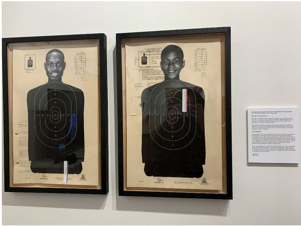 Ahmaud Arbery 25 and Unarmed and Trayvon Martin 17 and Unarmed by Gigi Salij