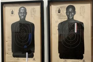 Ahmaud Arbery 25 and Unarmed and Trayvon Martin 17 and Unarmed by Gigi Salij