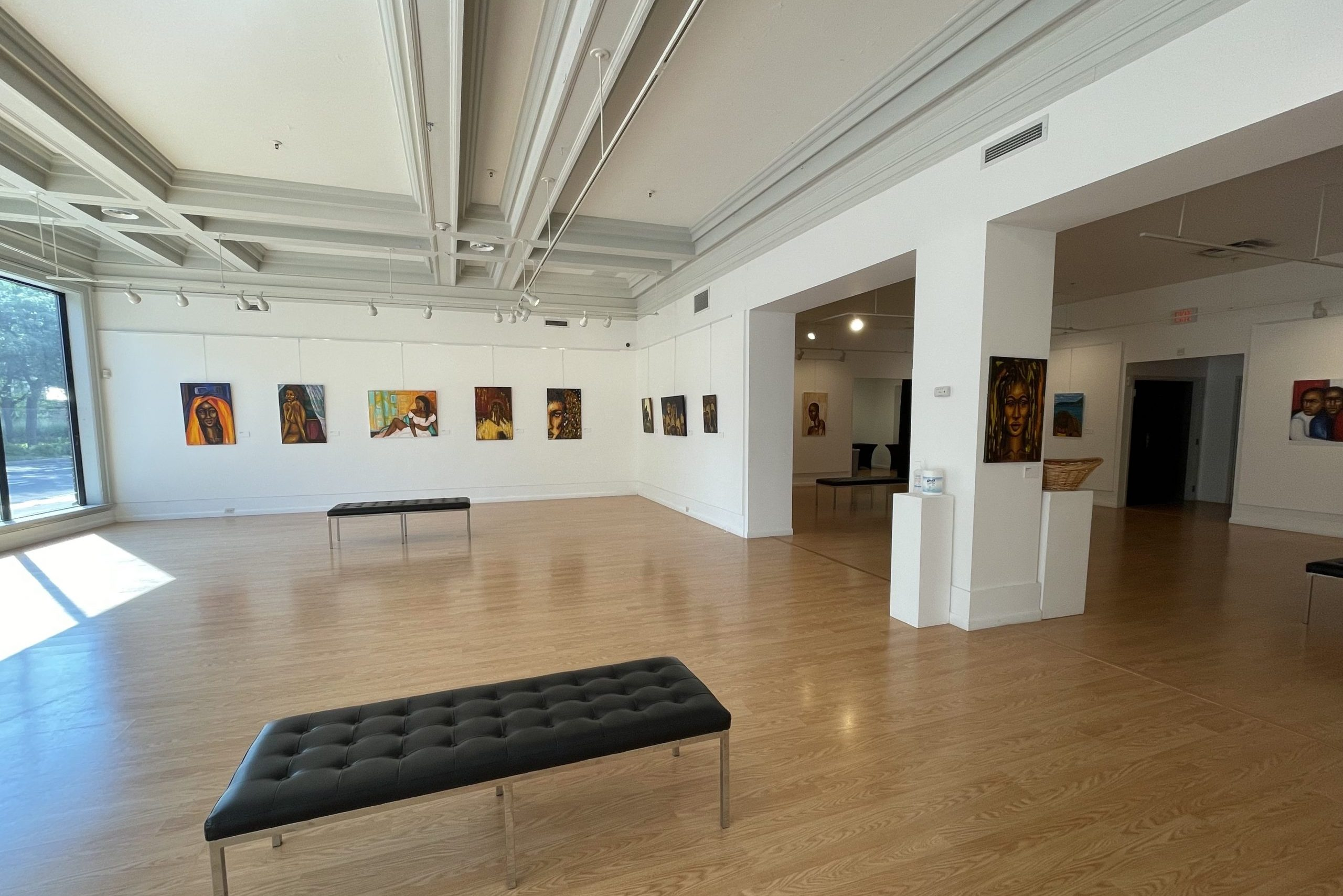 """""""Capturing the Essence and Strength of Beauty"""" exhibition of Keith Brown's art work."""