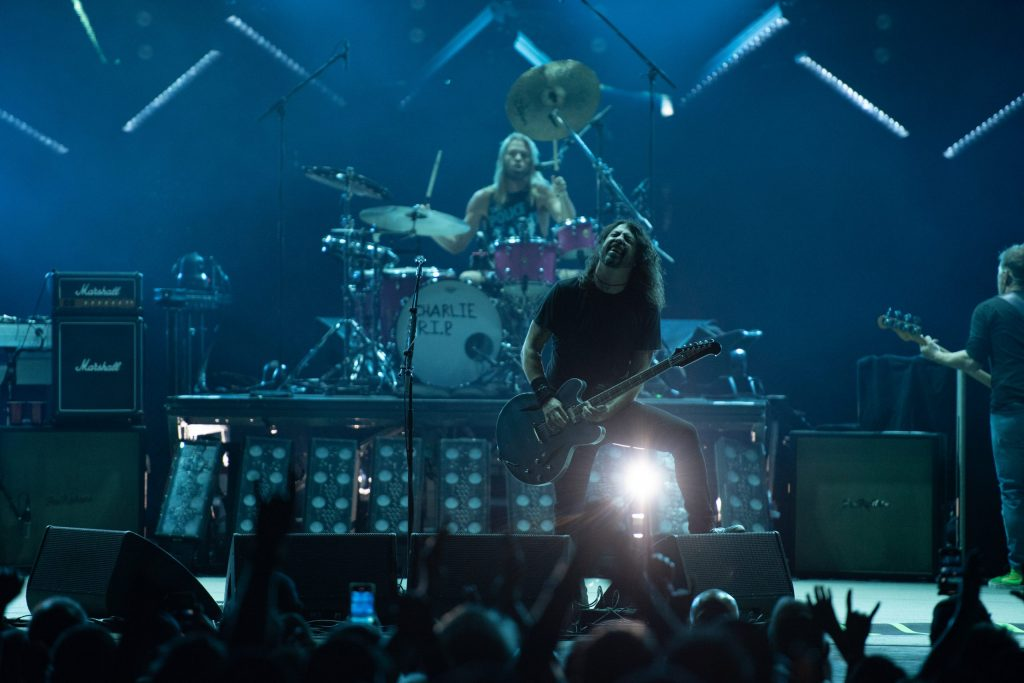 On stage, Grohl said they aren't an encore band — they just keep playing until time runs out on September 15, 2021.