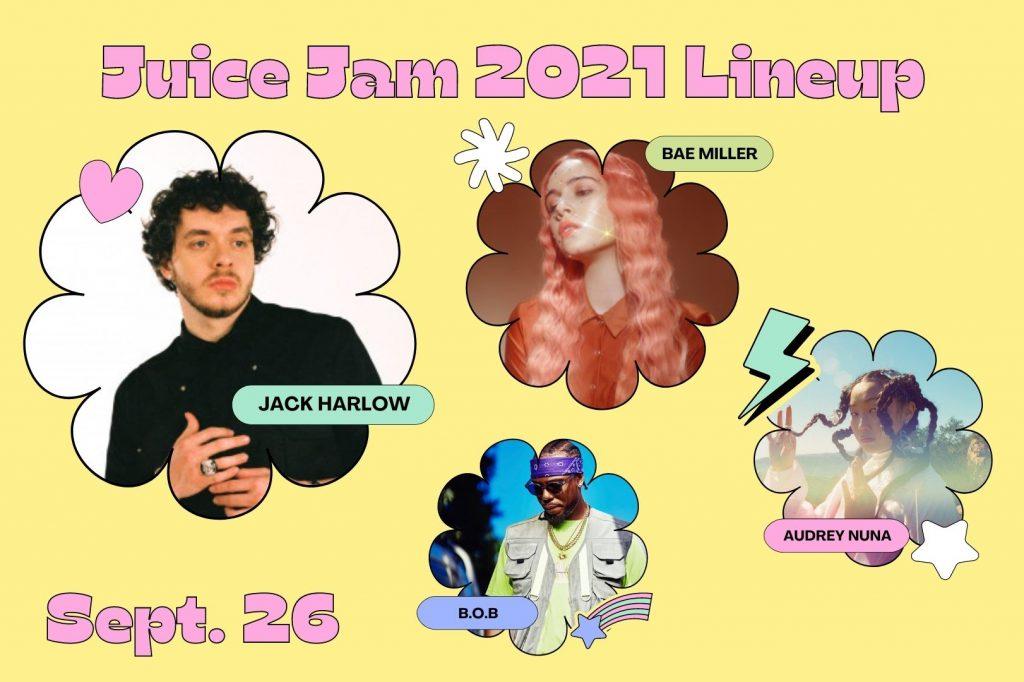 Juice Jam 2021 Lineup