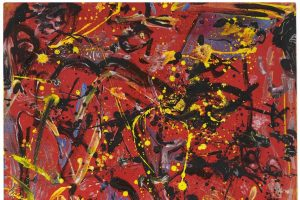 """Jackson Pollock's """"Red Composition"""""""