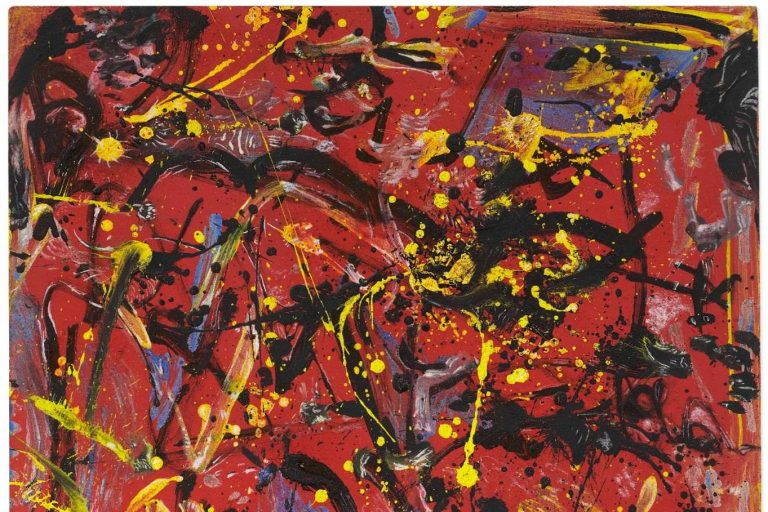 "Jackson Pollock's ""Red Composition"""