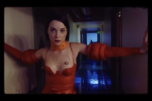 St. Vincent as herself in Bill Benz's 'THE NOWHERE INN.