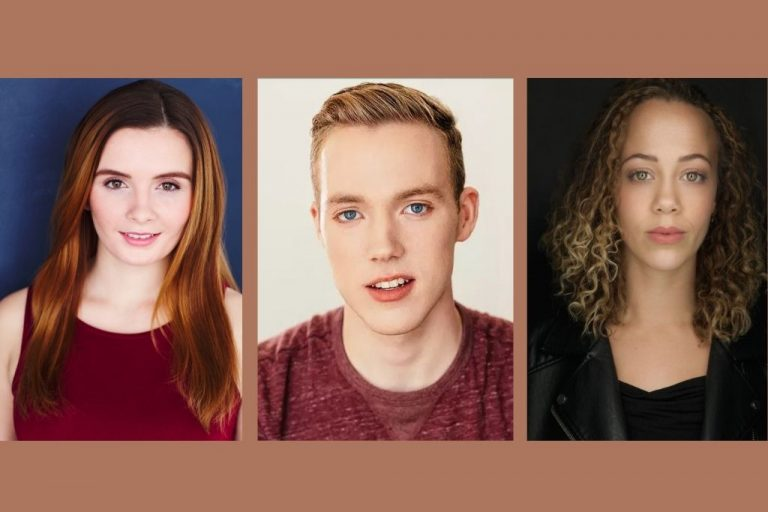 It has been over a year since COVID-19 caused theater and production companies to shut down — these three SU alums, Carly Caviglia (left), Joshua Keen (center) and Kayla King (right) talk about their experience entering the acting world during a pandemic.