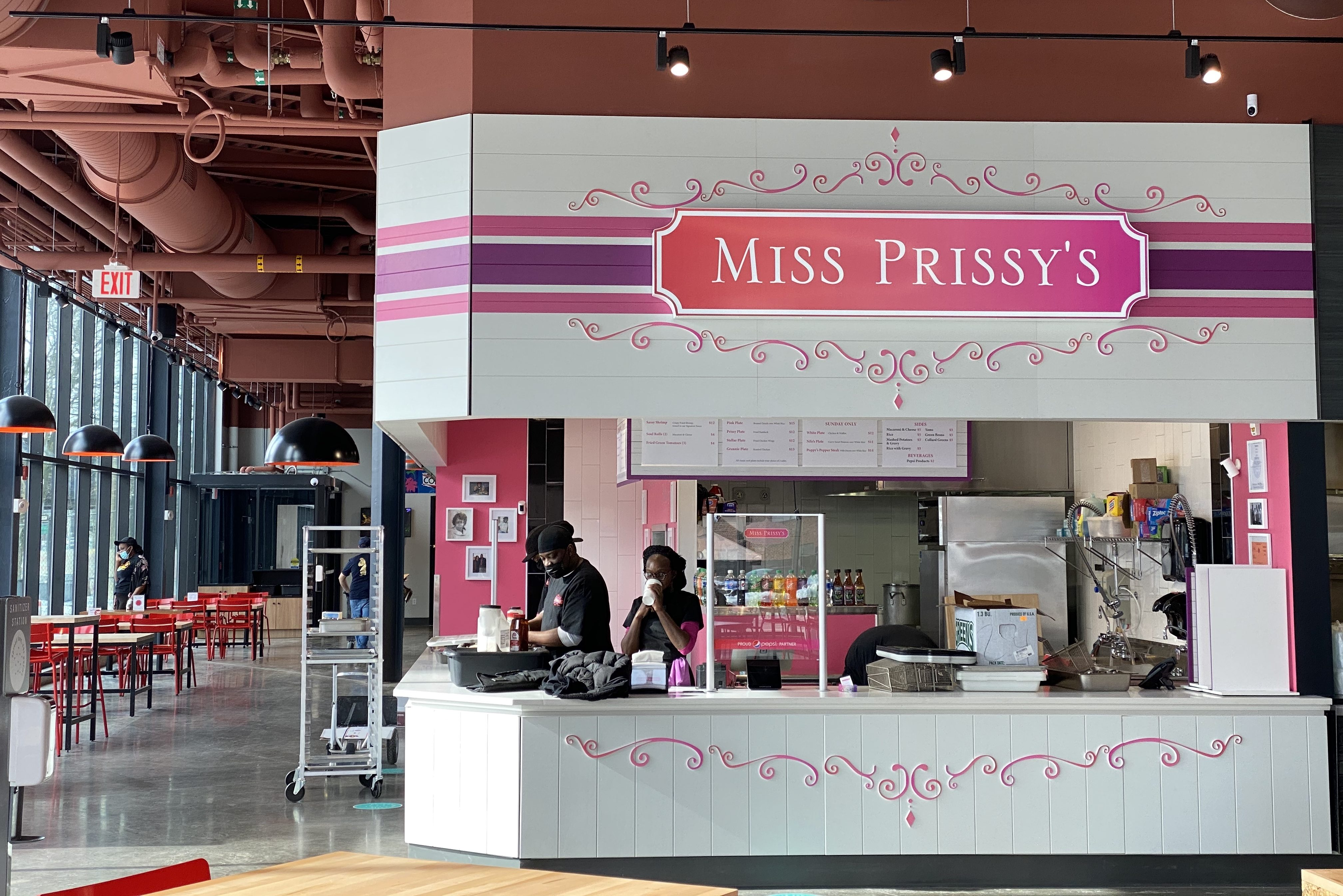 Miss Prissy's is one of many vendors located at Salty City Market in Syracuse.