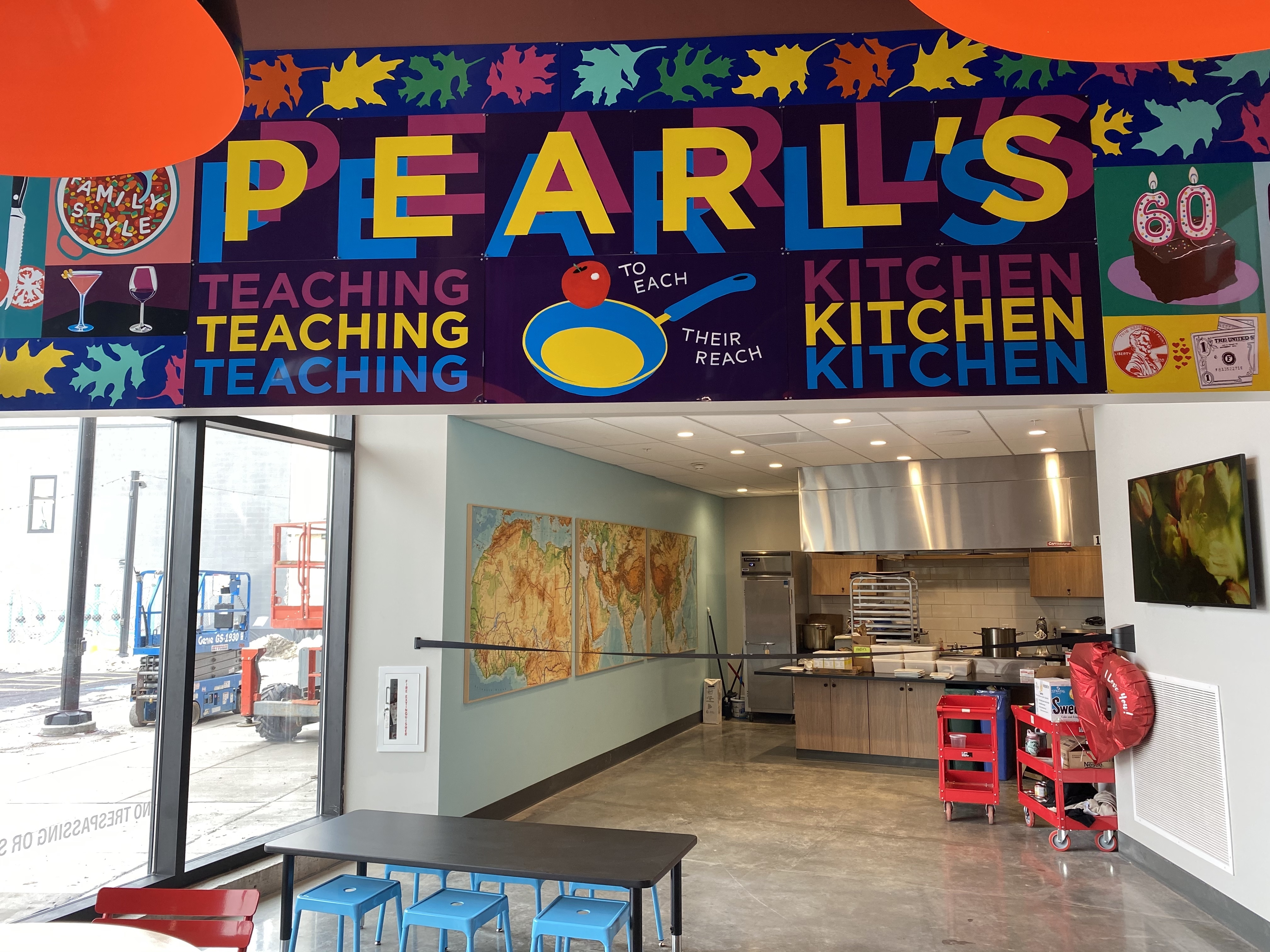 One of the next steps for Salt City Market is to open up Pearl's Teaching Kitchen for customers to immerse themselves in cooking food of different cultures.