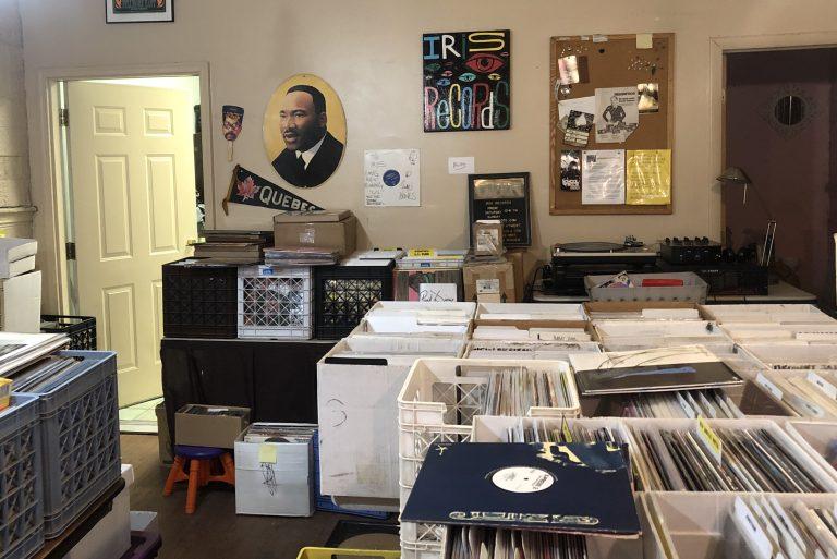 Iris Records store