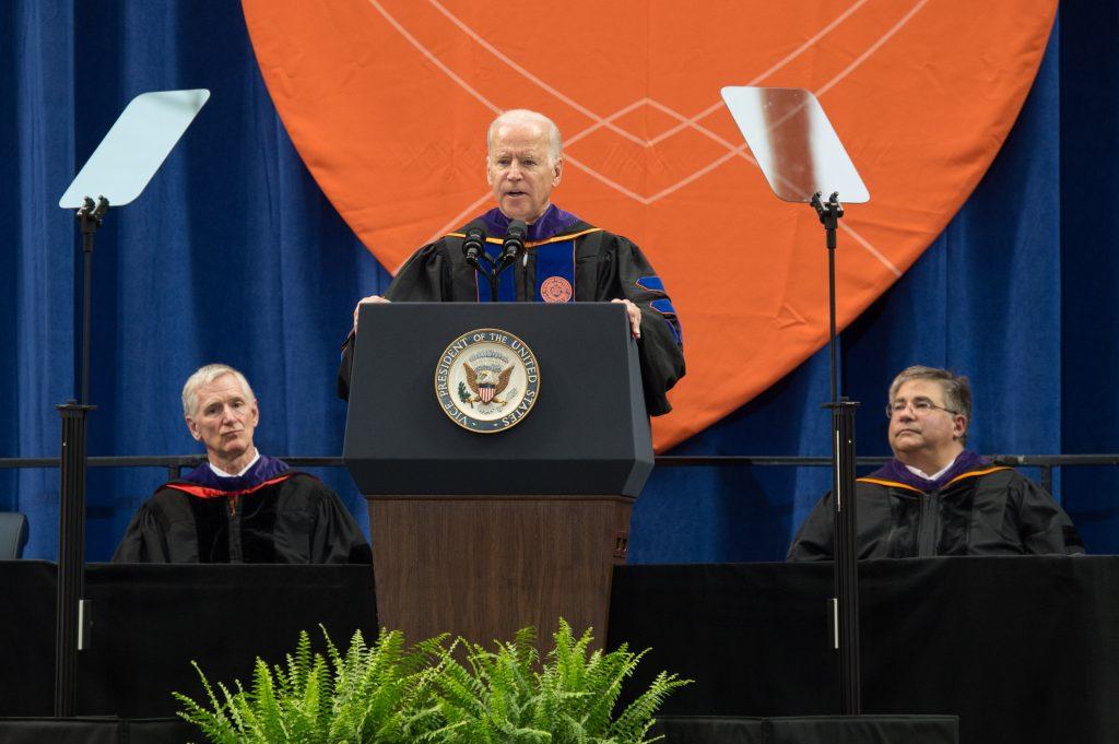 Commencement 2016 COL College of Law Vice President Joseph Joe Biden Speaker
