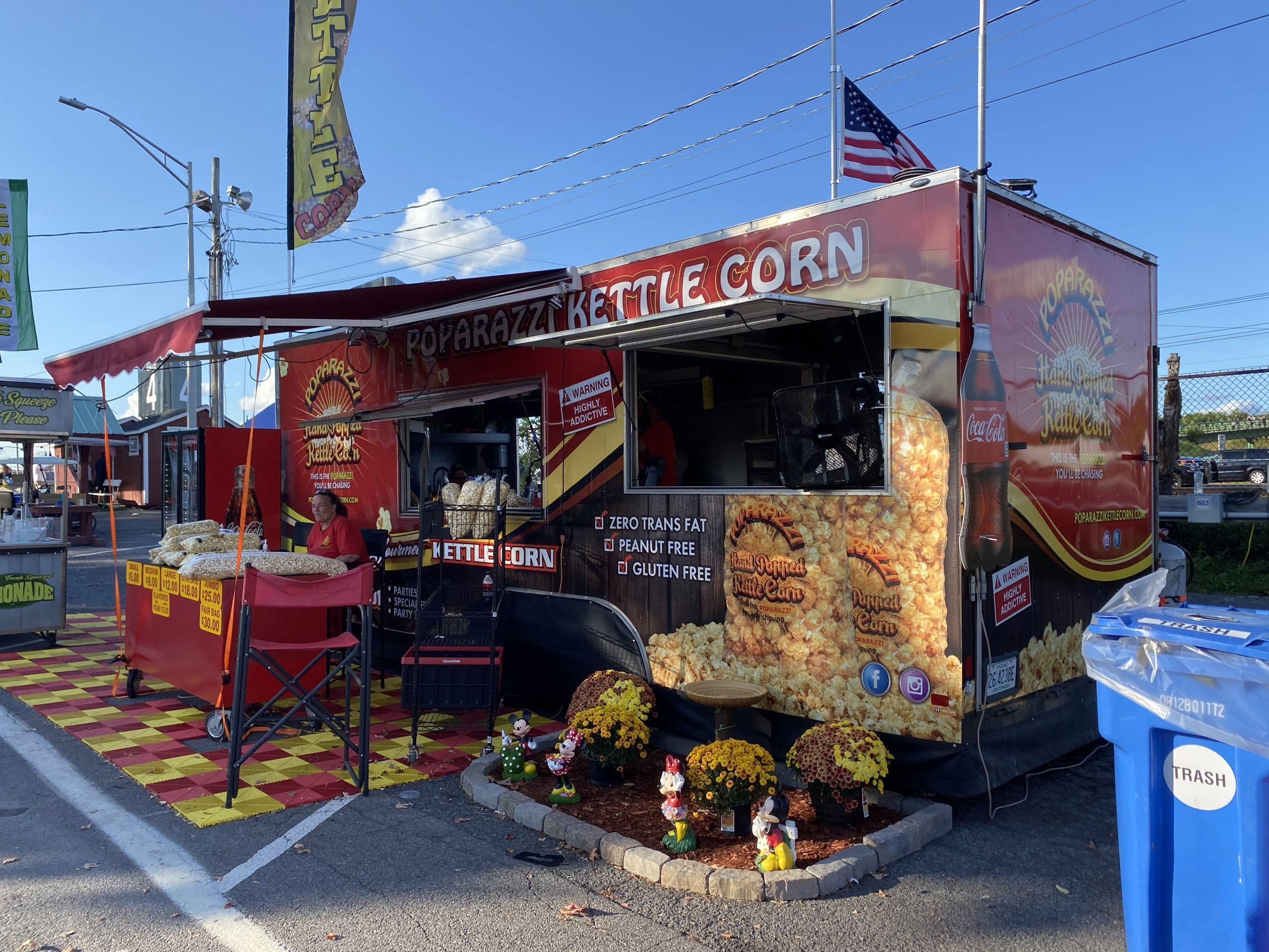 New York State Fair 2021 Food - Kettle Corn Stand