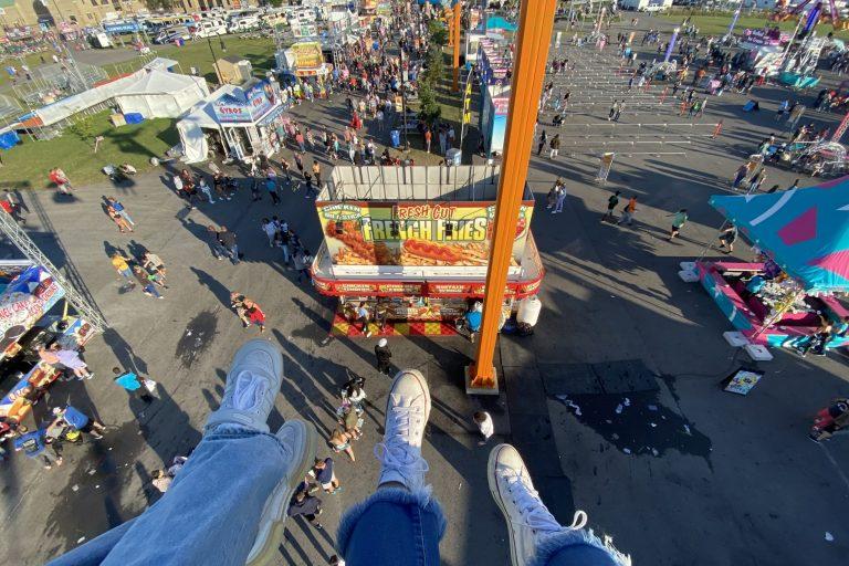 New York State Fair 2021 Food - Ferris Wheel View