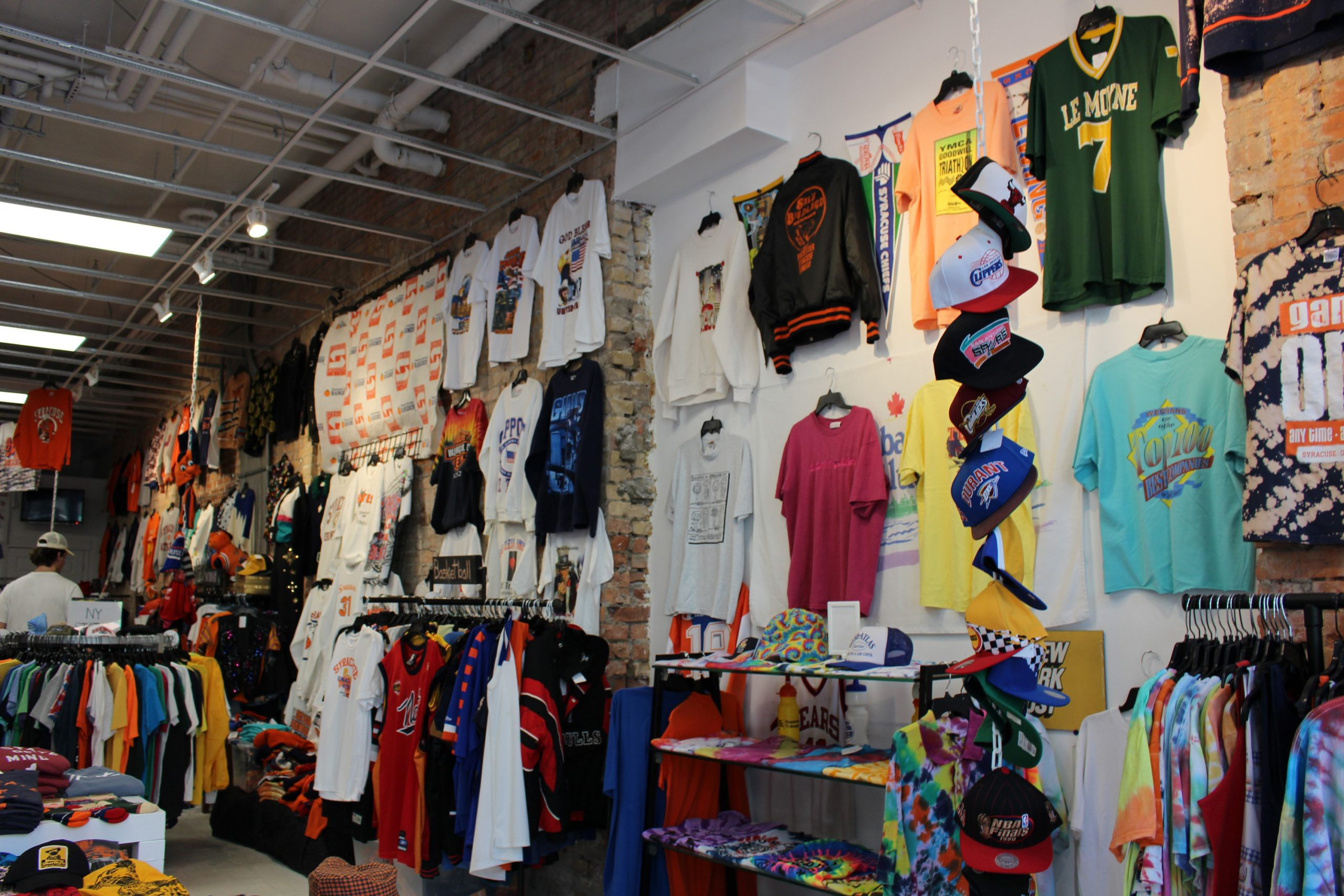 The interior of Scholars & Champs in Syracuse, NY
