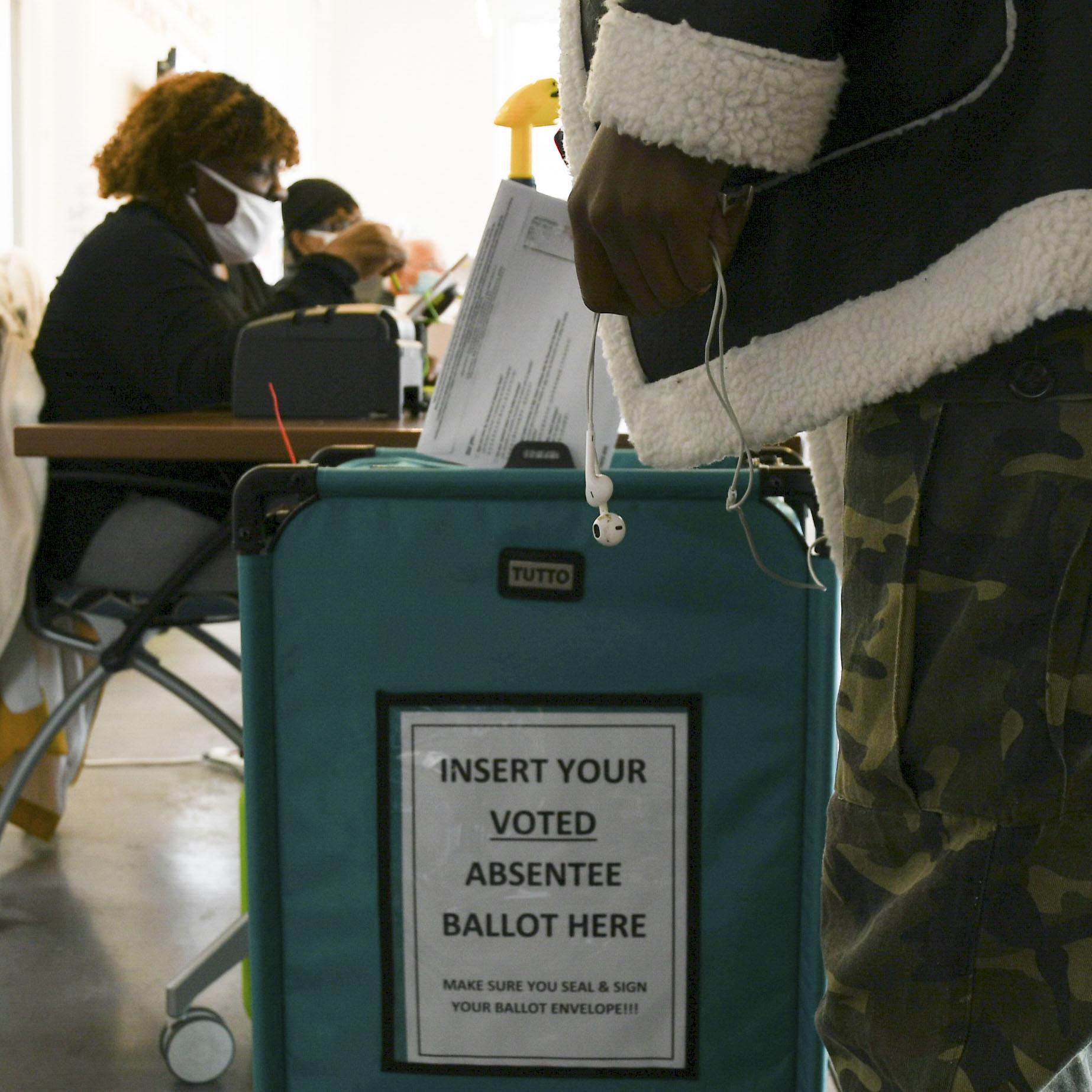 insert ballot