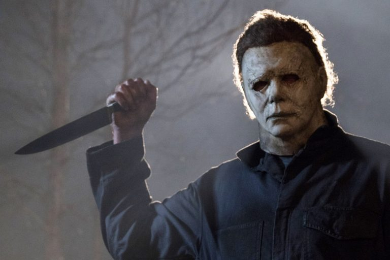 """James Jude Courtney as Michael Myers in the 2018 version of """"Halloween."""""""