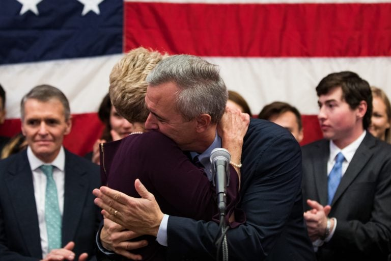 Midterm Election Night: Republican incumbent John Katko retains his U.S. House seat  on Nov. 6, 2018.