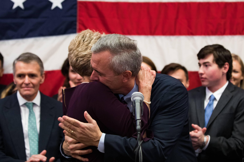 Midterm Election Night: Republican incumbent John Katko retains his U.S. House seat  on Nov. 6, 2018.