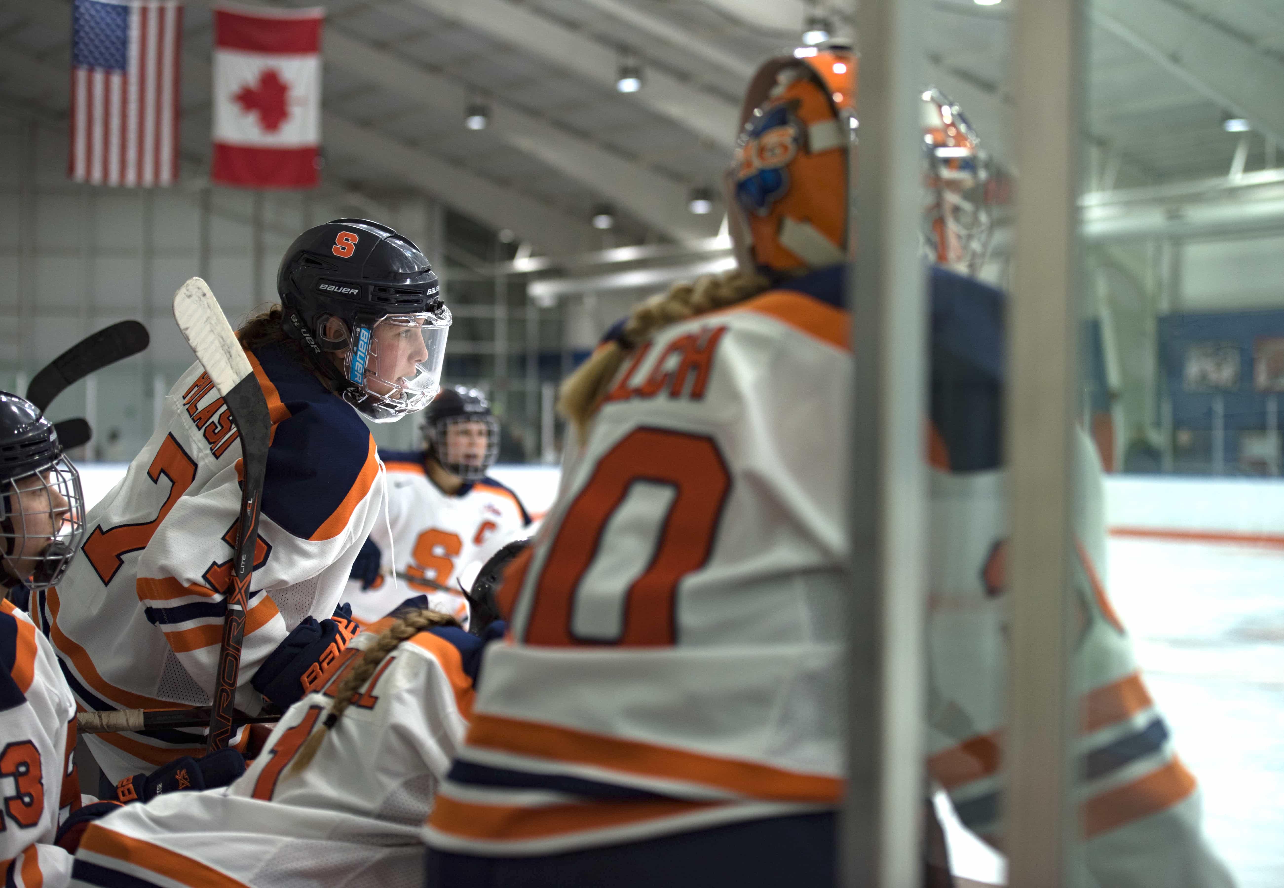 SU vs RIT Women's Hockey