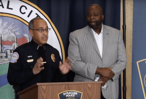 Syracuse law enforcement press conference Nov. 19, 2019.