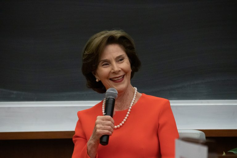 SU Laura Bush Whitman