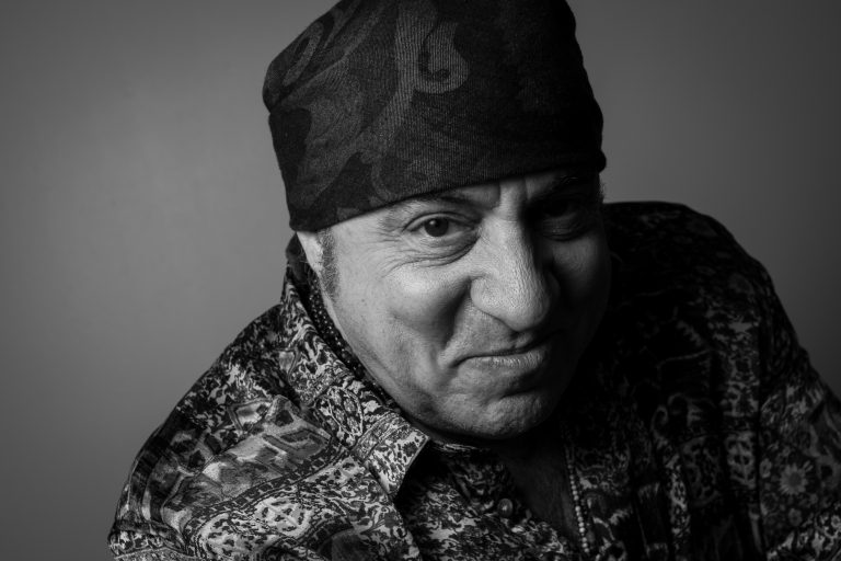 Steven Van Zandt, also known as Little Steven, poses for a photo before speaking with Bandier Students at the S.I. Newhouse School of Public Communications on March 18, 2019