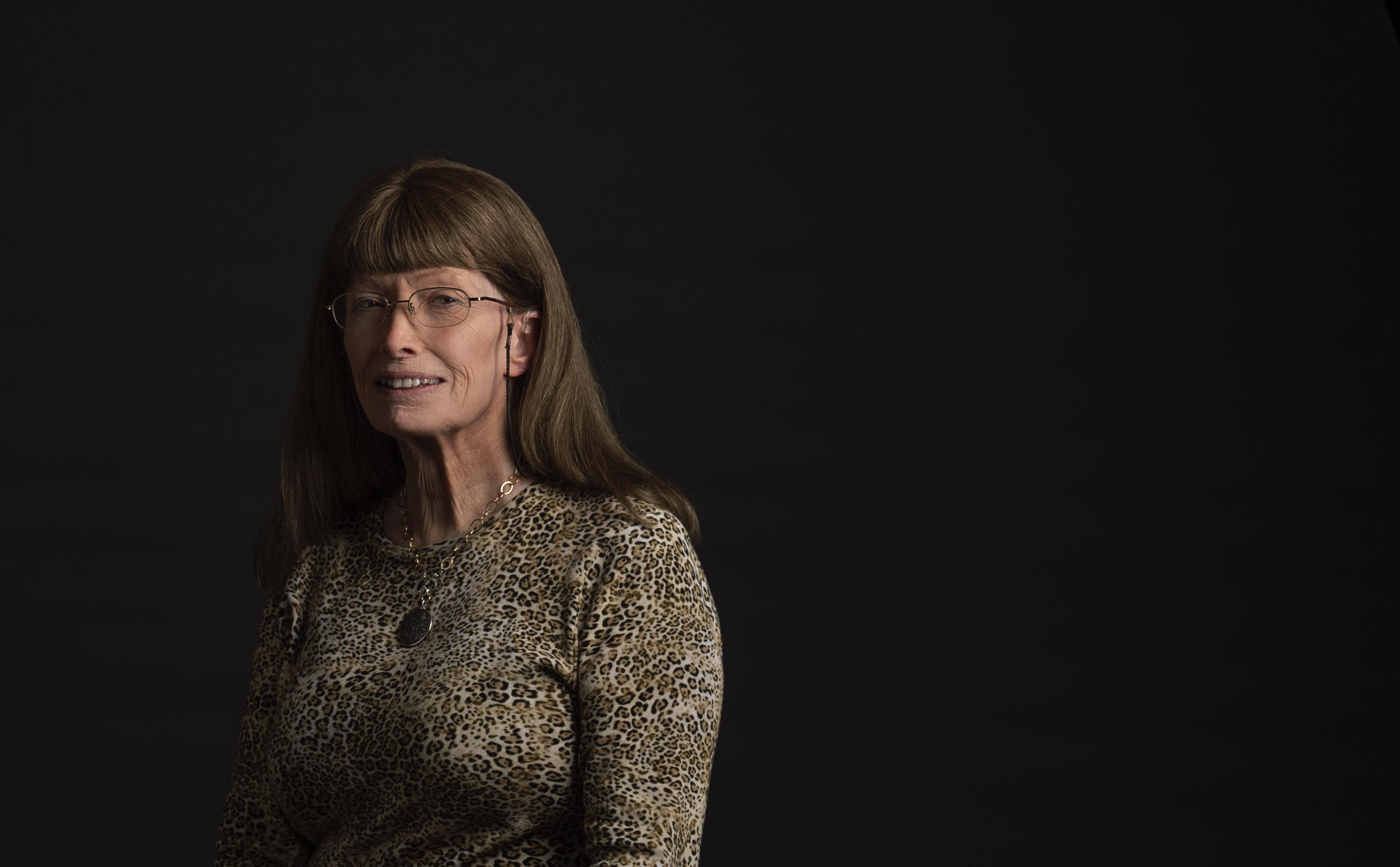 Lynn Conway portrait on March 26, 2019 at Syracuse University