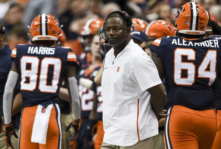 Syracuse vs. Pittsburgh football at the Carrier Dome Oct. 18, 2109