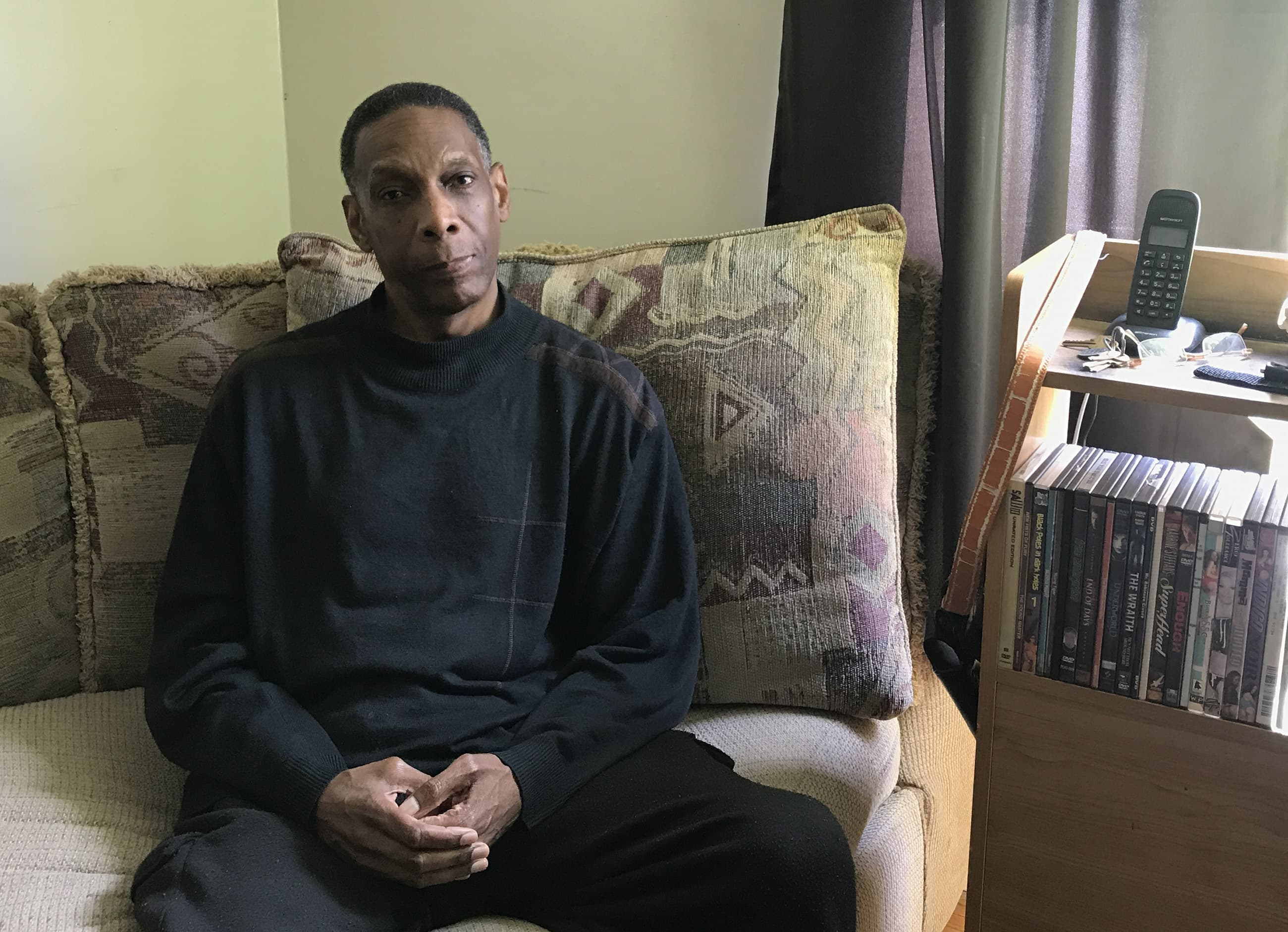 Bruce Allen moved to Syracuse, New York, from New Jersey in 2006. He receives Meals on Wheels three times each week and uses a grocery shopping service biweekly.
