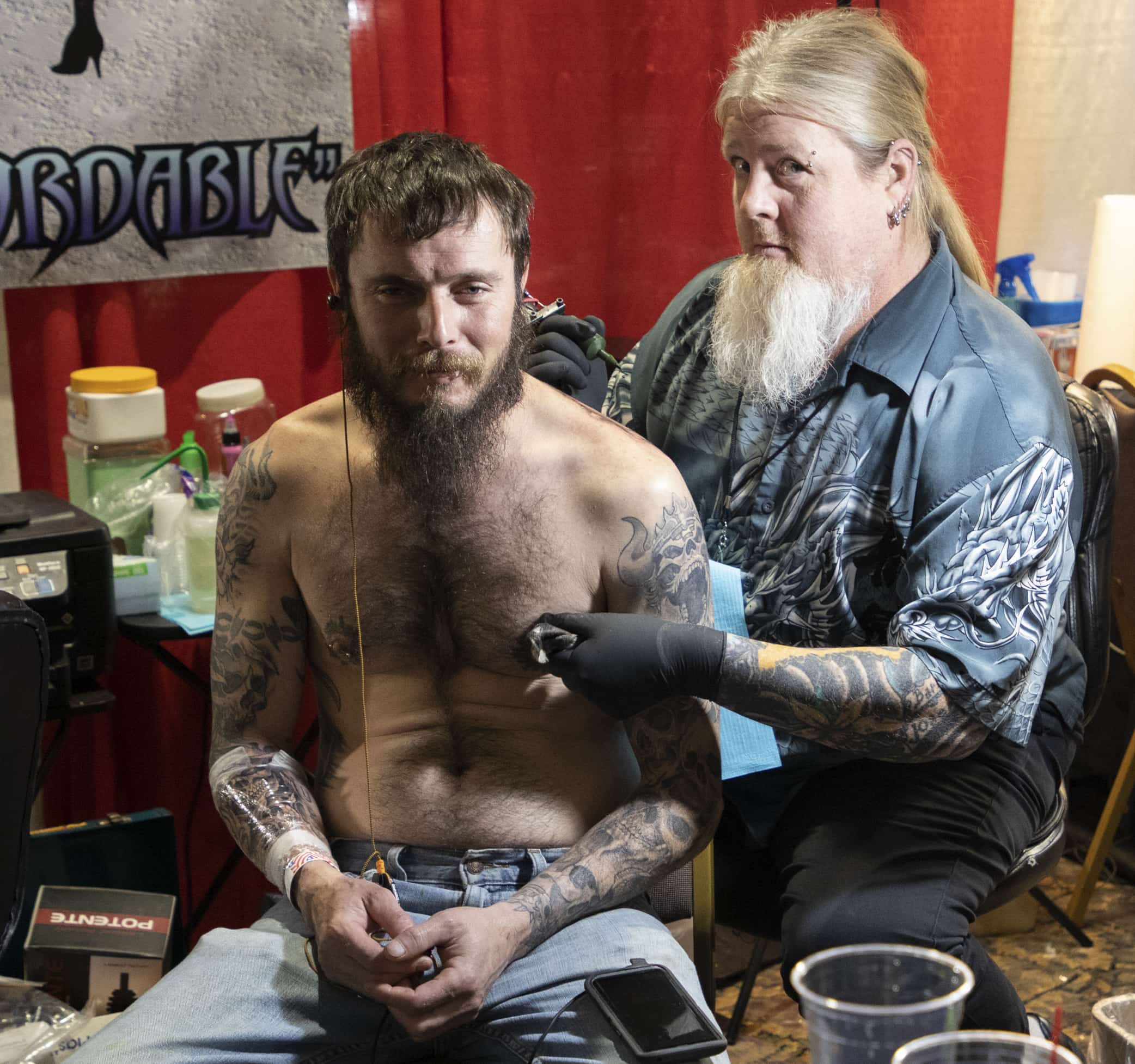 Over 100 international and local tattoo artists took part in the 33rd Annual Am-Jam Tattoo Exposition. (Photo by Romy Weidner)