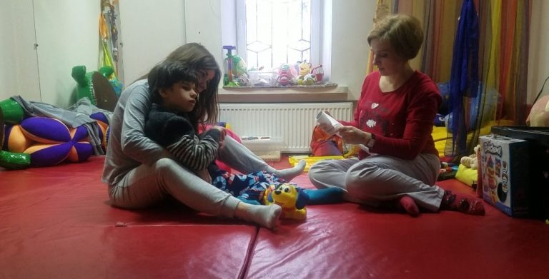 Mission to Ukraine - Sensory Therapy Session