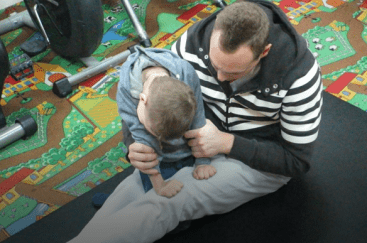 Mission to Ukraine - Physical Therapy Session