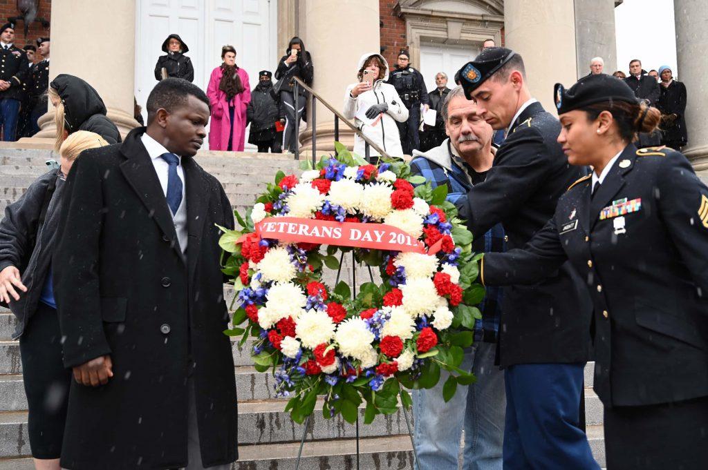 Syracuse University 2019 Veterans Day Ceremony