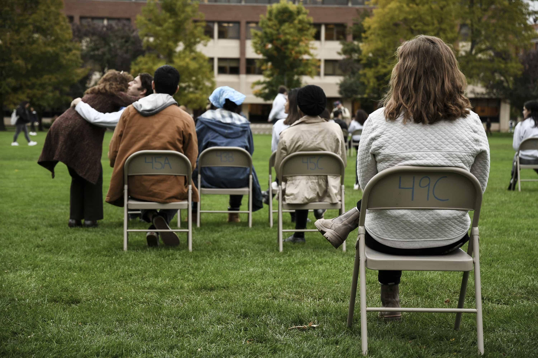 Sitting in Solidarity