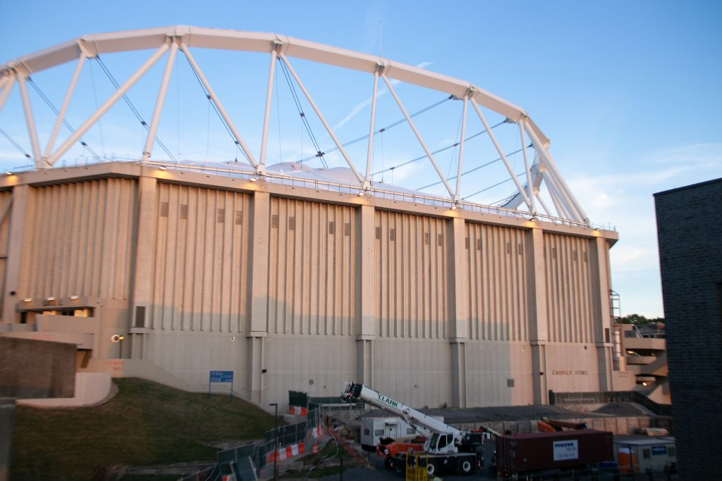 Carrier Dome Exteriors - Sept. 26, 2020