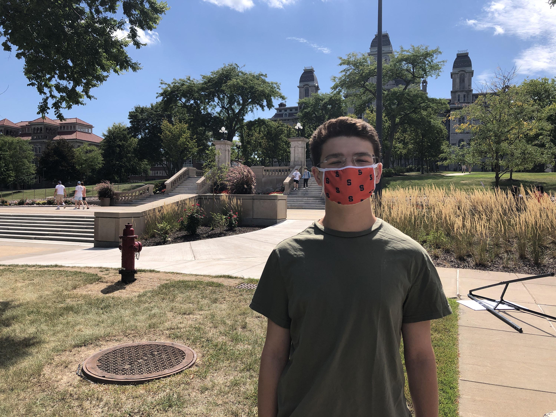 Jared Rowland, Syracuse University freshman