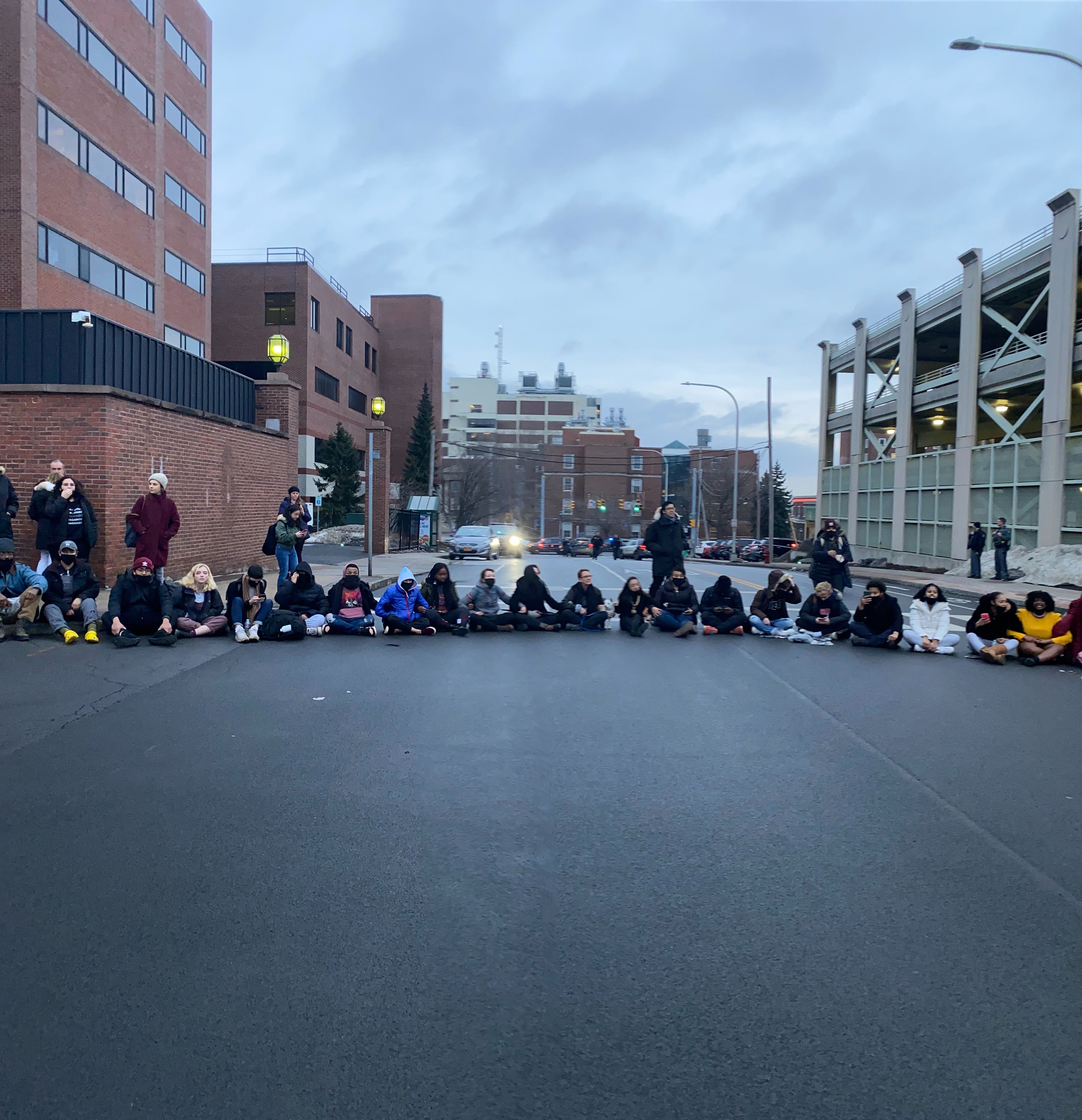 #NotAgainSU Protest at Syracuse University - Feb. 26, 2020 -