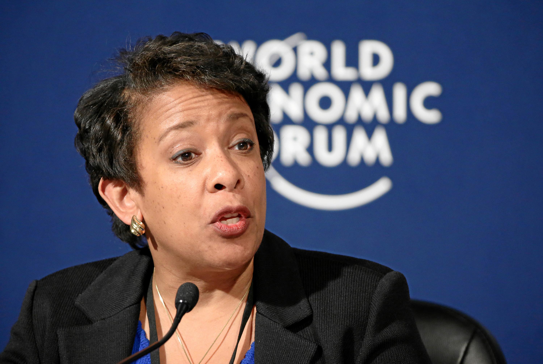 Press Conference: Confronting Cybercrime - A Public-Private Partnership: Loretta Lynch