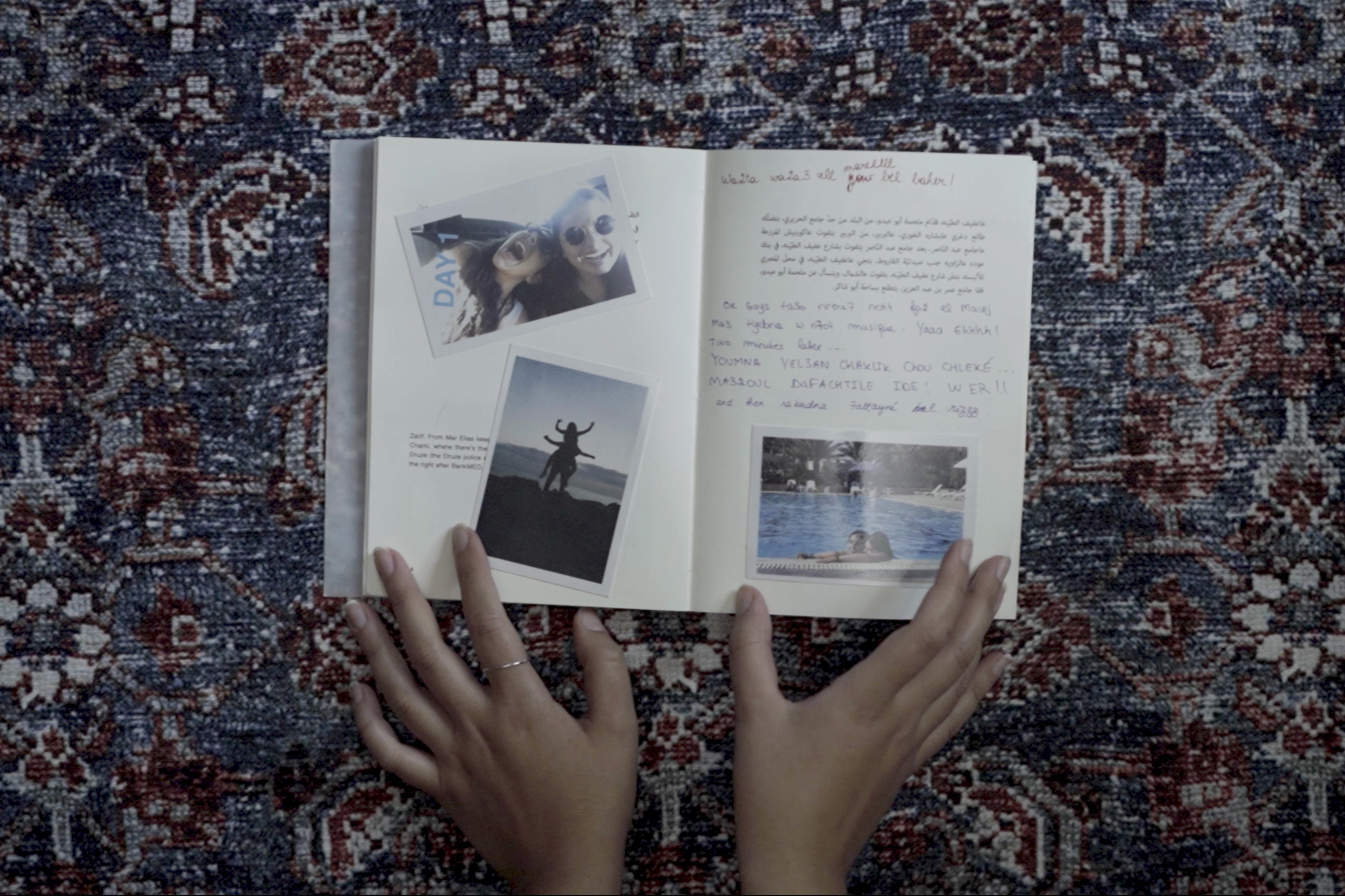 After the Explosion: The importance of filmmaking and memories about Maria Raad's journey from Beirut to Syracuse.