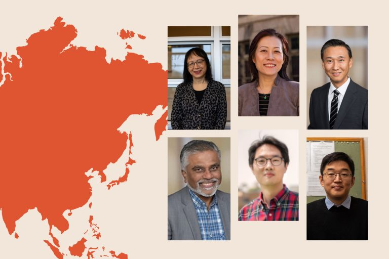 From Asia to Syracuse - Professor series