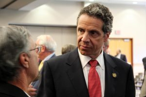 Andrew Cuomo, shown here at a 2011 Finger Lakes Regional Economic Development Council announcement.