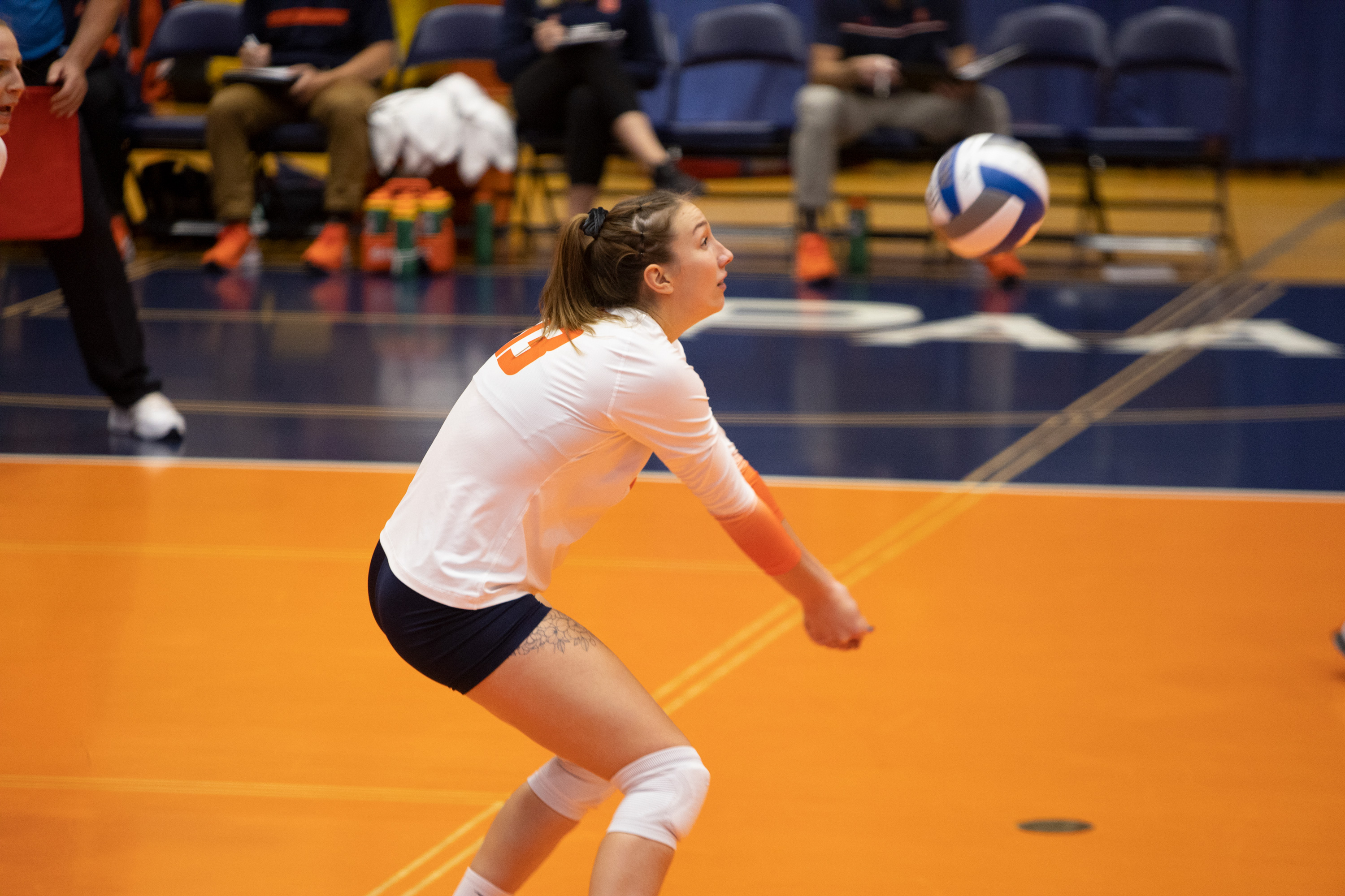 Syracuse volleyball vs. Boston College on Oct. 16, 2020