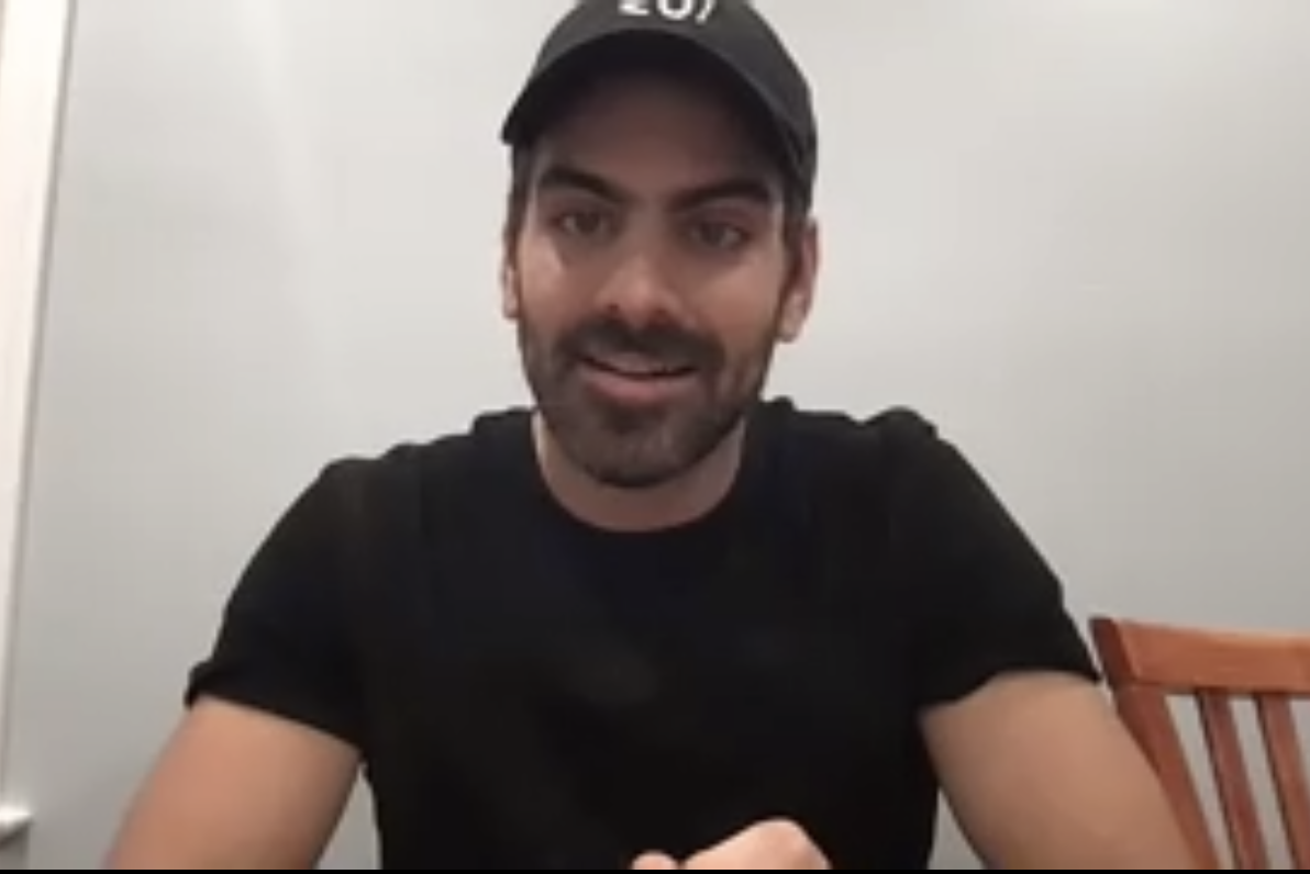 Nyle DiMarco spoke about his work in activism and increasing media representation for the deaf community in Tuesday's University Lecture Series spring closer.