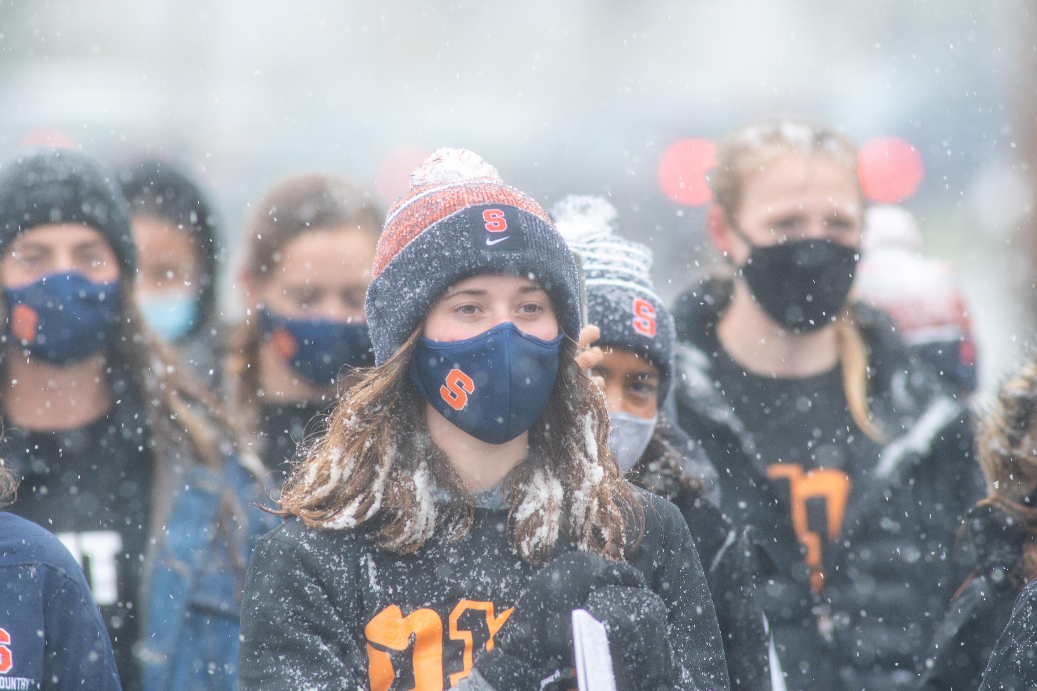 Syracuse Black Athlete Lives Matter March