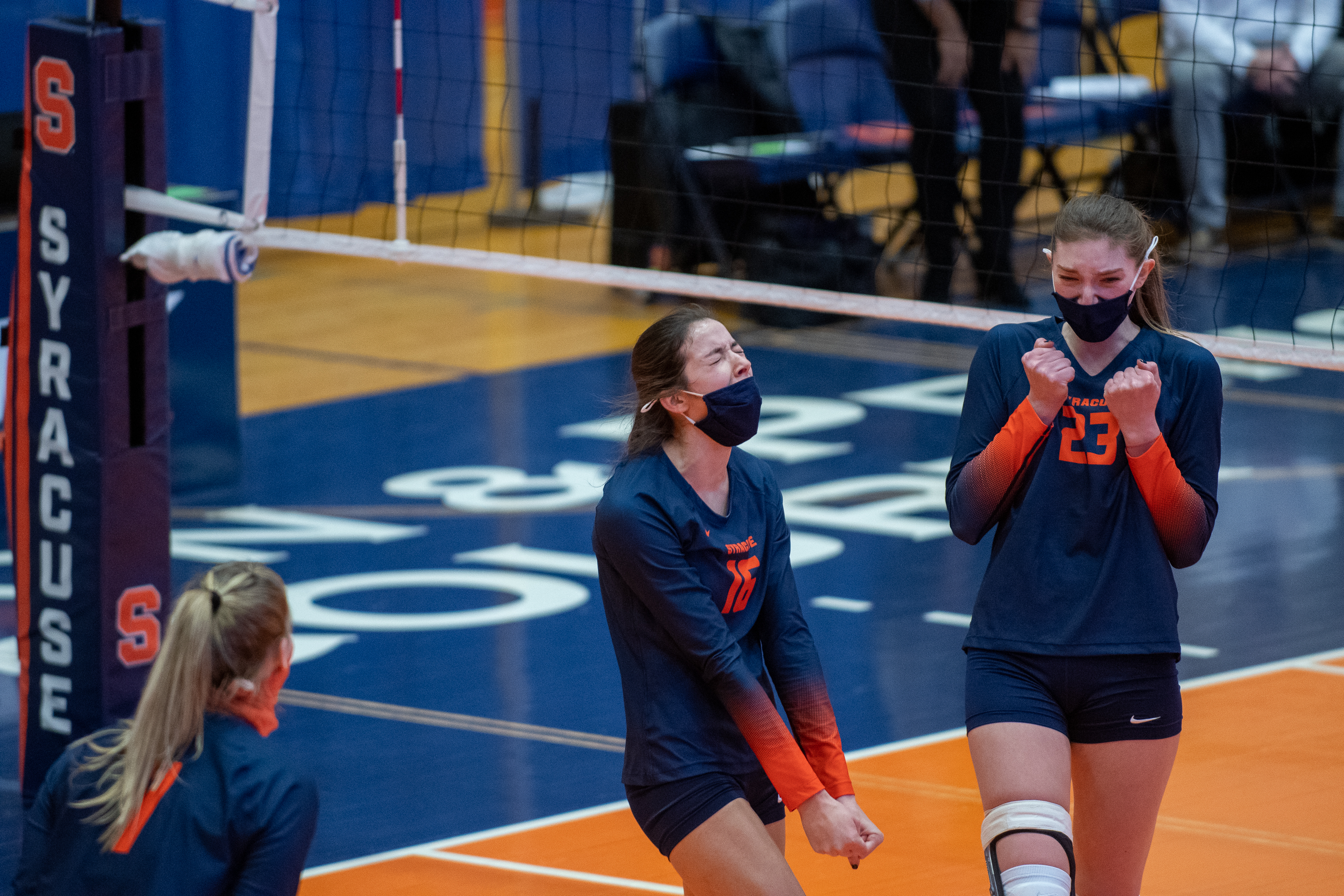 Syracuse Womens Volleyball Takes on Clemson - March 7th, 2021