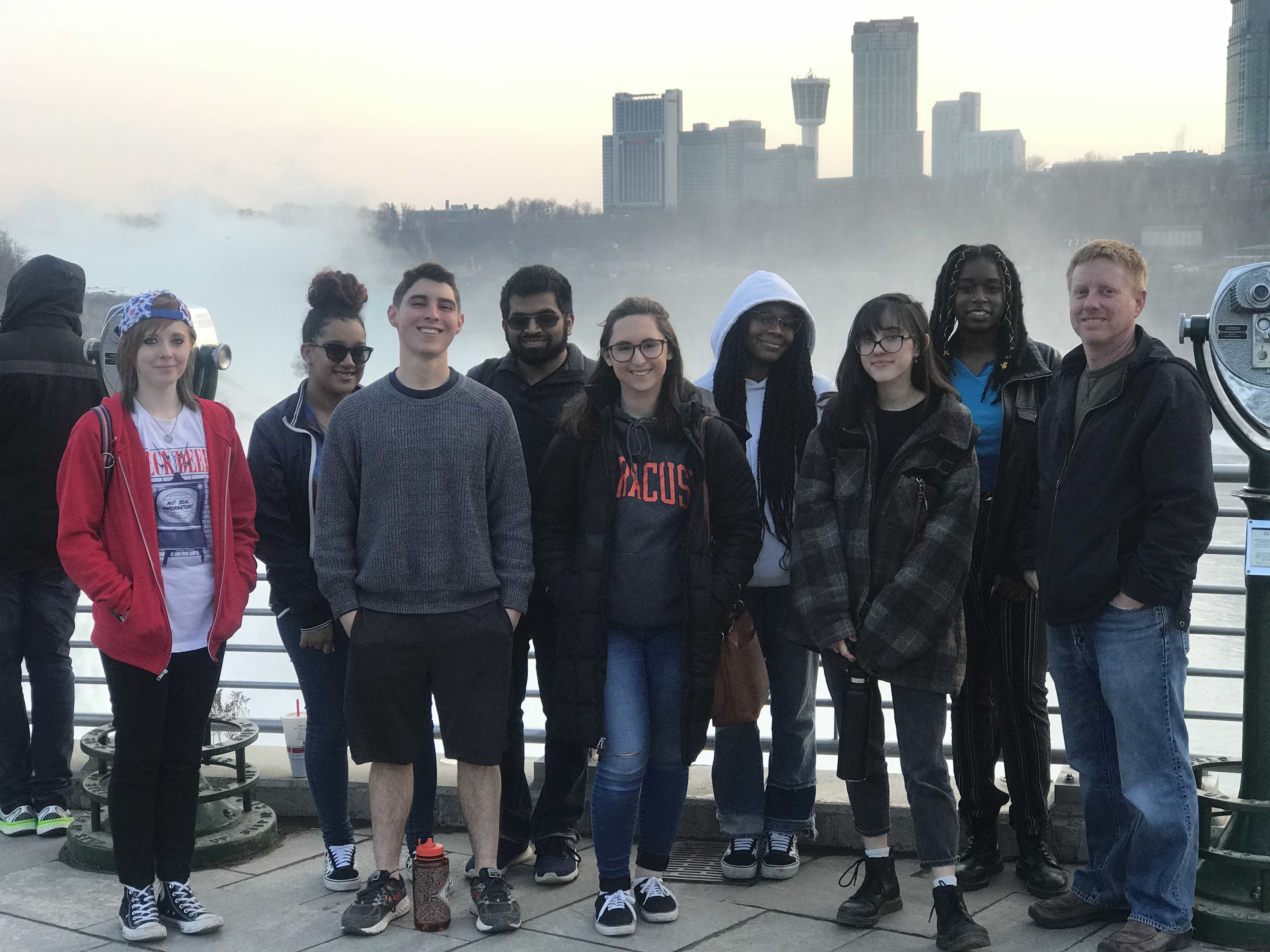 About Borderlines: Team West in Niagara Falls, New York